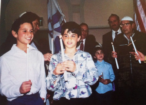 Karaites celebrating Purim in March 1987Source: Mourad El-Kodsi, Karaite Jews of Egypt (p. 307)