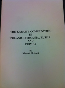 Karaite Communities of Europe